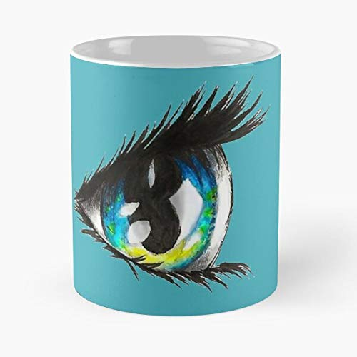 Kawaii Blue Eye Classic Mug - 11,15 Oz.