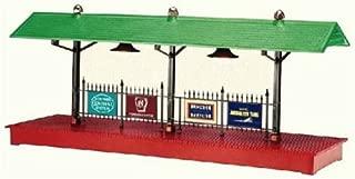 Illuminated Train Station Platform long island railroad 6-16855