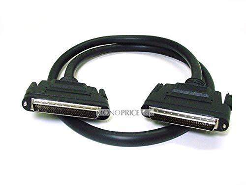 Monoprice 6-Feet HPDB68 LVD M/M SCSI Cable Screw (100780)
