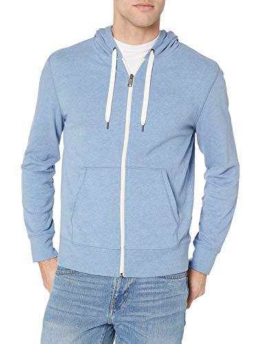 41xXb4VyjAL - Amazon Essentials Men's Lightweight French Terry Full-Zip Hooded Sweatshirt