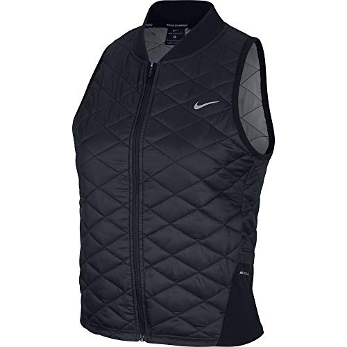 NIKE W NK AROLYR Vest - Chaleco, Mujer, Multicolor(Black/Atmosphere Grey)