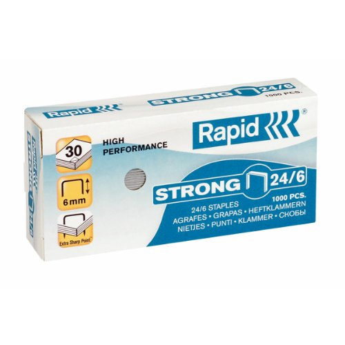 Grapas 22/6 Acero Inoxidable Marca Rapid