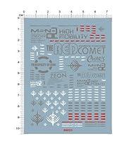 HG MSN-02 ZEONG ジオング デカール水転写式 「並行輸入品」