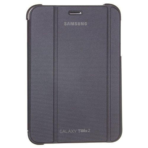 Samsung Original Diarytasche (Flipcover) im Buchdesign EFC-1G5SGECSTD (kompatibel mit Galaxy Tab 2 7.0) in darkgrey