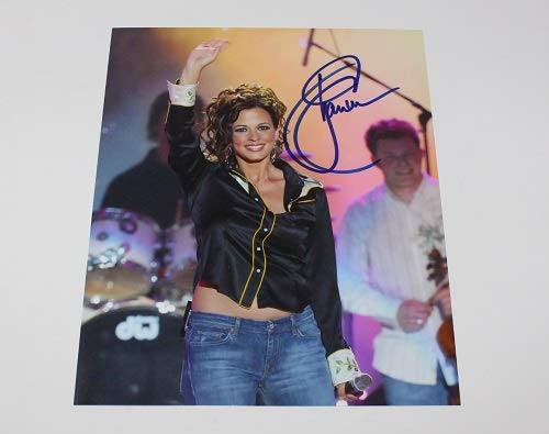 Sara Evans A Little Bit Stronger Signed Autographed 8x10 Glossy Photo Loa