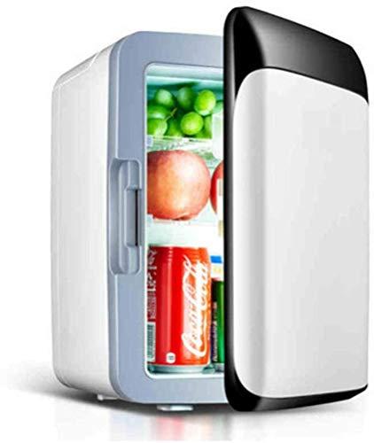 MEETGG Mini refrigerador Portátil, Alta Capacidad Super Capacidad Almacenamiento en frío, Calefacción Ahorro de energía para vehículo, hogar