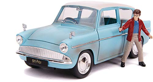 1:24 Harry Potter and 1959 Ford Anglia Die-Cast Vehicle -  Jada Toys, 31127
