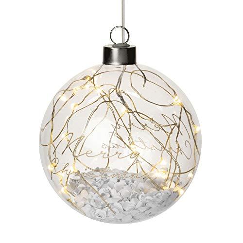 Räder LED Lichtkugel Merry Xmas, klein