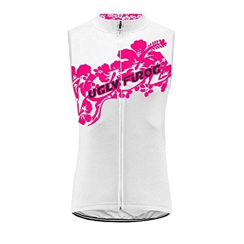 Uglyfrog Radtrikot Ärmellos Vest Damen Mode Sport & Freizeit MTB Fahrradbekleidung Radsport Hemd Polyester Gemütlich