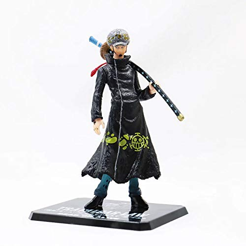 SDFDSSR One Piece Trafalgar Ley Death Cirujano Posure Posure PVC Material Anime Figura Modelo Toys Boxed Toys Regalos