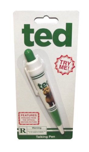 Ted the Movie Talking Pen Rated R Version