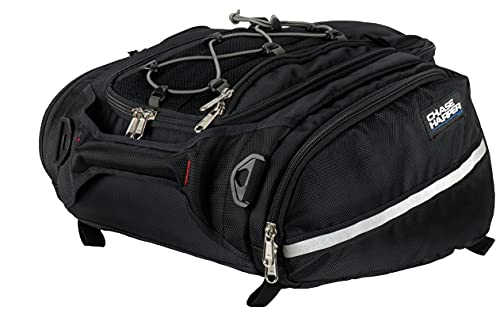 """Chase Harper USA 4502 RipStream Tail Trunk - Water-Resistant, Tear-Resistant, Industrial Grade Ballistic Nylon with Adjustable Bungee Mounting System for Universal Fit, 13.5""""L x 14""""W x 7""""H"""