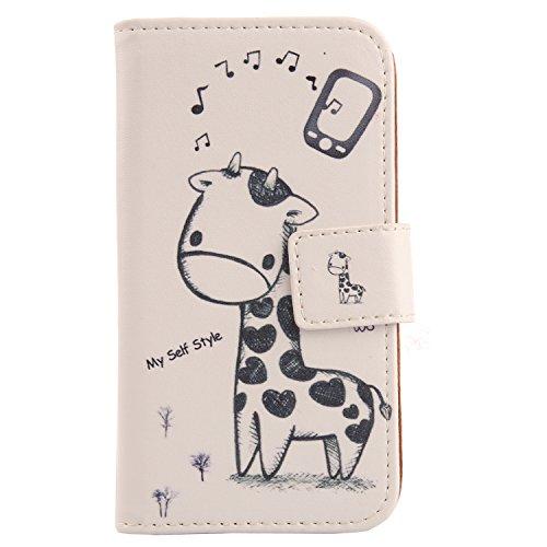 Lankashi PU Leder Handyhülle Tasche Handy Hülle Hülle Cover Schutzhülle Für Phicomm ENERGY L 5