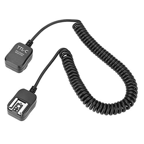 Entatial Cable de Flash Fuera de la cámara 0,8 m Ttl Cable...