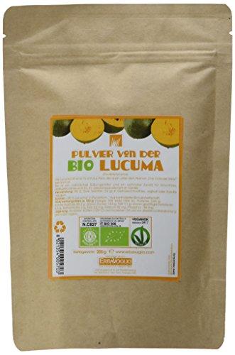 Erbavoglio Bio-Lucumapulver, 1er Pack (1 x 200 g)