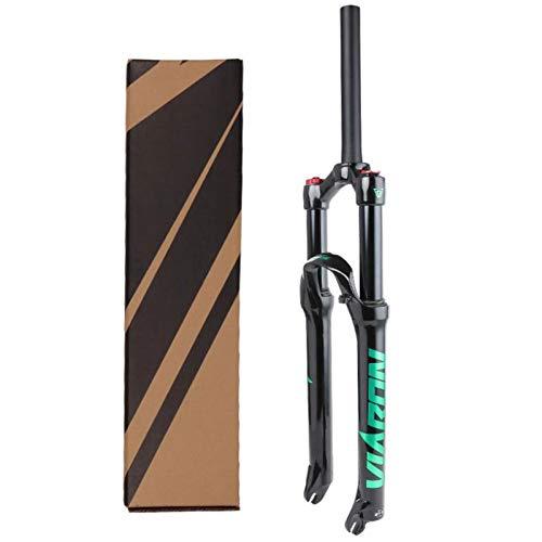 Horquilla Suspensión 26/27.5/29 Pulgadas,Horquillas de Suspensión para Bicicletas Carrera de 120mm Horquilla Suspensión de Montaña 1-1/8' (Size : 27.5inch)