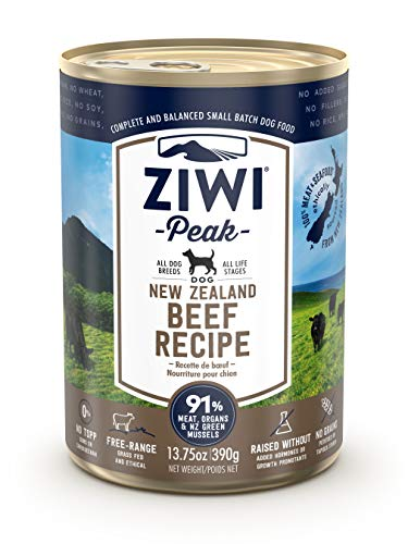 Ziwi Peak Canned Beef Recipe Dog Food (Case of 12, 13.75 oz. each)