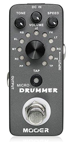 MOOER/MICRODRUMMERムーアー超小型ドラムマシン