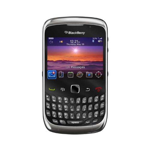 Blackberry Curve 3G 9300 QWERTY - Smartphone libre (cámara 3 MP, 256 MB de...