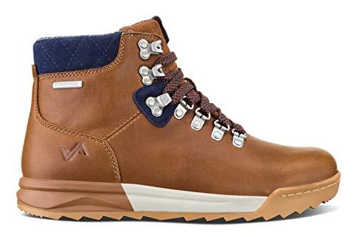 Forsake Patch - Women's Waterproof Premium Leather Hiking Boot (5 M US, Brown/Navy)