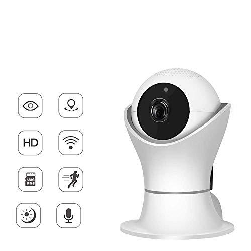 GSAGJyec WiFi-Überwachungskamera, 3D-Panorama-Navigation Kamera, 1080P Bewegungserkennung, intelligente Überwachungskamera Überwachung mit Nachtsicht for Baby-Elder Haustier