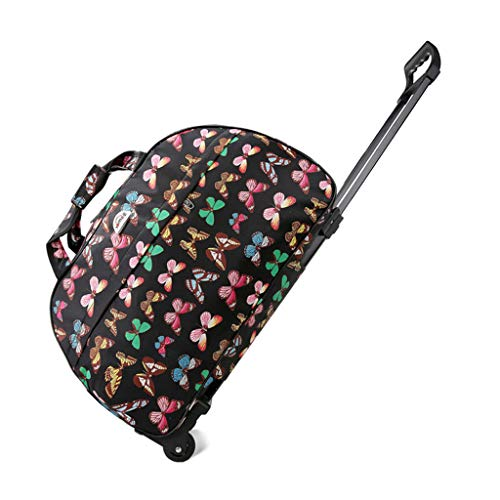 Aisumi - Bolsa de Viaje de Gran Capacidad, Impermeable, Gruesa, con Ruedas, para Mujeres y Hombres