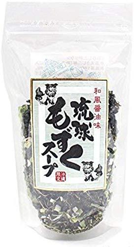 沖縄限定 和風醤油味 琉球もずくスープ 55g×12P お湯を注ぐと出来上がり 食事のプラス1品 お酒の後に