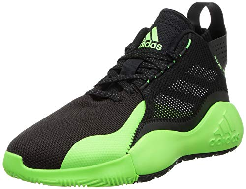 Adidas Adult's-Unisex D Rose 773 2020 Basketball Shoe- CBLACK/TMSOGR/GRESIX, 10 UK