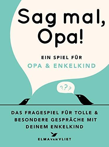 Sag mal, Opa!: Ein Spiel für Opa und Enkelkind