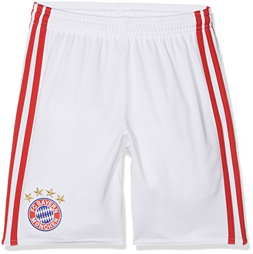 adidas Kinder Champions League Fc Bayern München Shorts weiß/Rot 164-L