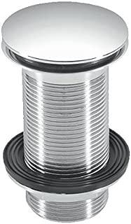 McAlpine CWU60-CB 1 1/4-Inch Unslotted Brass Basin Waste - Chrome