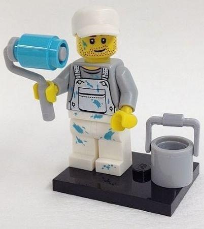 Lego Minifigures Series 10: Decorator