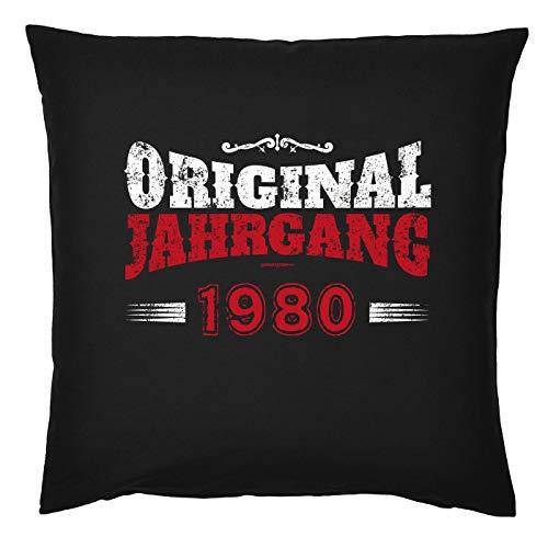 Mega-shirt kussen met vulling origineel jaargang 1980 voor de 39e verjaardag cadeau-idee kussen voor de 39-jäirge decoratiekussen bekleding