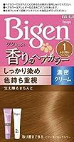 ホーユー ビゲン香りのヘアカラークリーム1 かなり明るいライトブラウン 40g+40g
