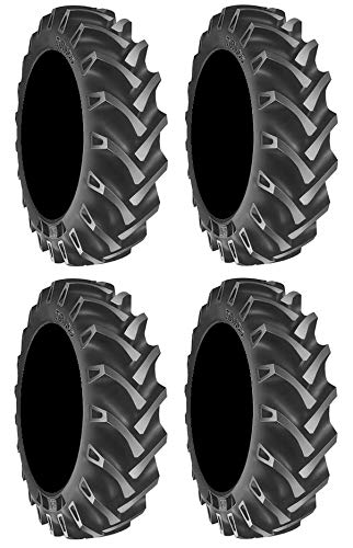 Full set of BKT TR 135 (8ply) 47x9.5-30 ATV Mud Tires (4)