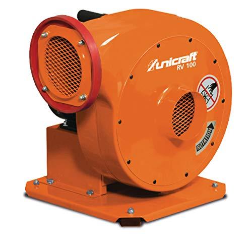 AIRKRAFT 6261100 Unicraft RV 100 Ventilator, Zentrifugalventilator, 0,75 kW, 230 V