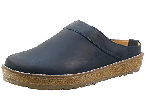 HAFLINGER Pantoletten TRAVEL-Clog NEO Größe 46 EU Blau (Blau)
