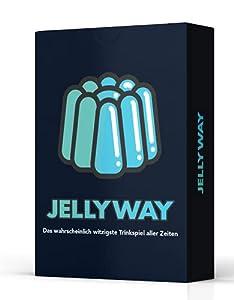 🥳 Jellyway - das wahrscheinlich witzigste Trinkspiel aller Zeiten - 55 Spielkarten mit absolutem Spaßfaktor! Der perfekte Einstieg in einen genialen Partyabend. Macht die Gläser voll und lasset das Saufspiel beginnen! 🍻 Dieses Trinkspiel rettet jedes...