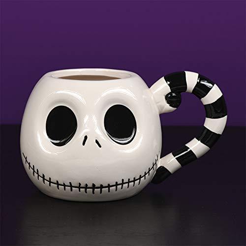 L'Etrange Noël de Monsieur Jack SCMG24973 Mug en céramique 3D 13oz / 380ml, 380 milliliters