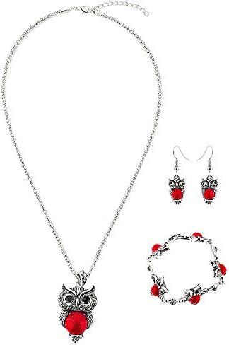 Collar de Búho para Mujer Moda Estilo Retro Gypsy-Stocking Regalo//presente para ella