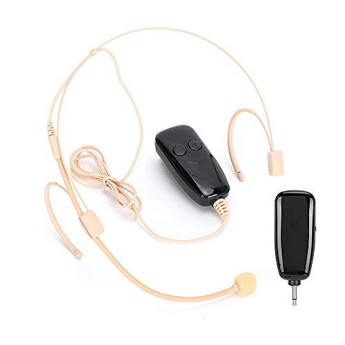 Draadloze microfoon Headset, UHF-headset Draadloos microfoonsysteem 164ft Range Headset en handheld 2 in 1 voor…