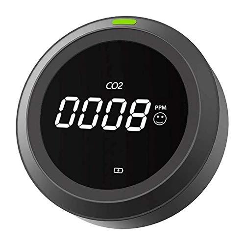 LILIS Carbon Monoxide Meter Luftqualitätstester Hoher empfindlicher Kohlendioxid-Detektor CO2 Meter Tester PTH-4 CO2 Meter Luftqualitätsmonitor Gasanalysator