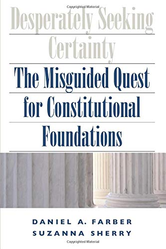 Desperately Seeking Certainty: The Misguided Quest for...