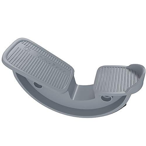 Foot Rocker - Calf, Ankle & Foot Stretcher - Improve Flexibility, Mobility and Range of Motion for Pain Caused by Plantar Fasciitis, Achilles Tendonitis and Tight Calves (Gray)
