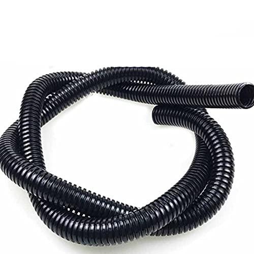 Tubo corrugado de 5 m, cable de coche para automóvil, protección de...