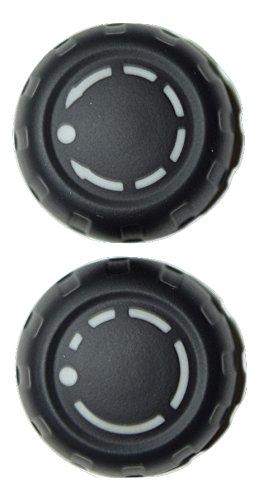 Price comparison product image (2) Genuine VOLUME KNOB BUTTONS for PORSCHE 997 PCM RADIO NAVIGATION 911 CARERRA