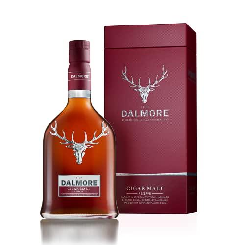 DALMORE - Cigar Malt Reserve - Whisky Single Malt - 44% Alcool - Origine : Écosse/Highlands - Bouteille 70 cl