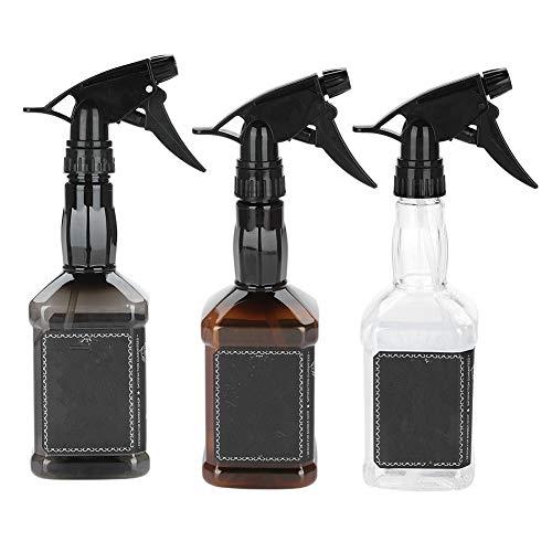 Bouteille à vaporiser - Bouteille à vaporiser pour les cheveux, Bouteille rechargeable pour pulvérisateur d'eau Bouteille de vaporisateur de coiffure pour salon de coiffure 650 ml (Couleur : Black)