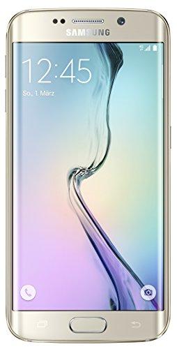 "Samsung Galaxy S6 Edge - Smartphone libre Android (pantalla 5.1"", cámara 16 Mp, 32 GB, Quad-Core 2.1 GHz, 3 GB RAM), dorado"
