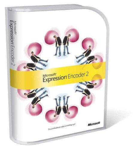 Microsoft Expression Encoder 2 English UPG DVD [import anglais]